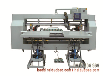 Máy đóng ghim hai mảnh bán tự động, Model AS-009