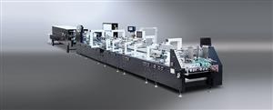 Máy gấp dán hộp tự động Model GS-650/800/1100