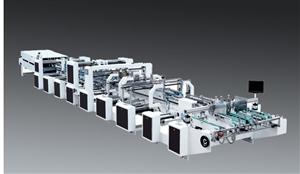 Máy gấp dán thùng carton tự động gấp 4/6 góc, Model GK-SLJ