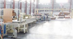 Máy sóng dây truyền sản xuất tổ ong 2 lớp HF1600-15S