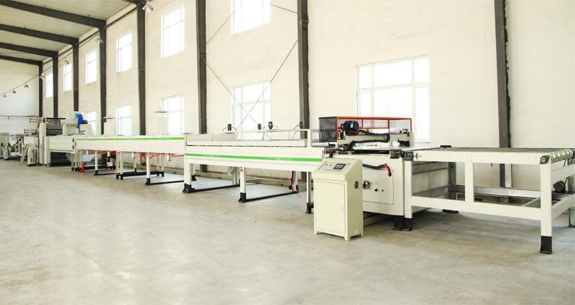 Máy sóng sản xuất dây truyền tổ ong HF 1600