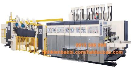 Máy in Flexo và tự động gấp hộp, Model INOVA-TP-FFG