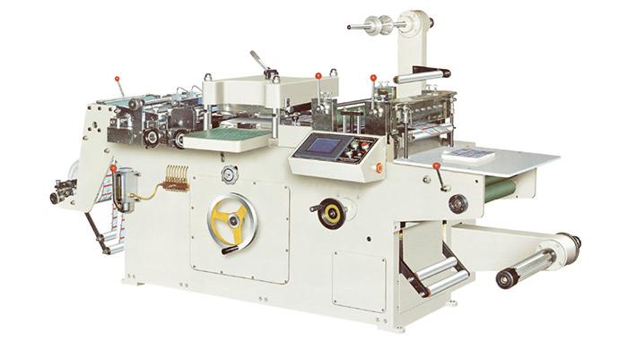 Máy cắt nhãn cốc giấy tự động, Model NMD-320