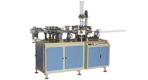 Máy làm cốc giấy tự động đính ngang , Model TB-12