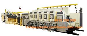 Máy in Flexo và tự động gấp hộp, Model VRIDA-TP-FFG