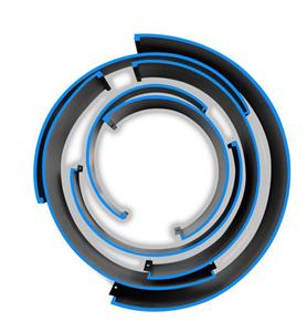 Tấm lót bế tròn