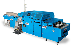 Máy gấp dán hộp tự động HCM-390
